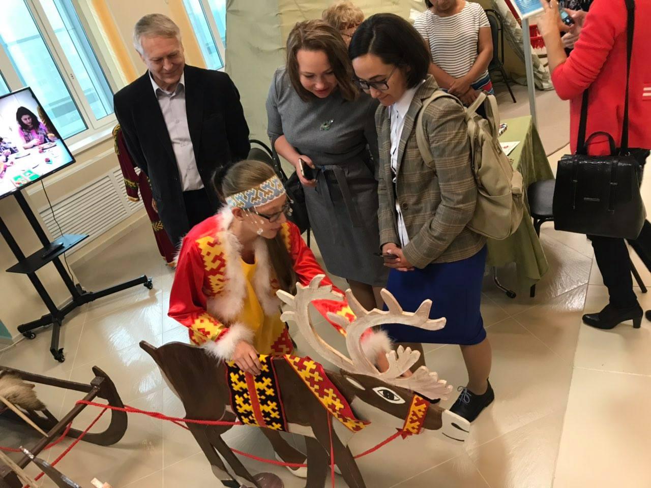 Масштабная обновленная выставка этнокультурного проекта
